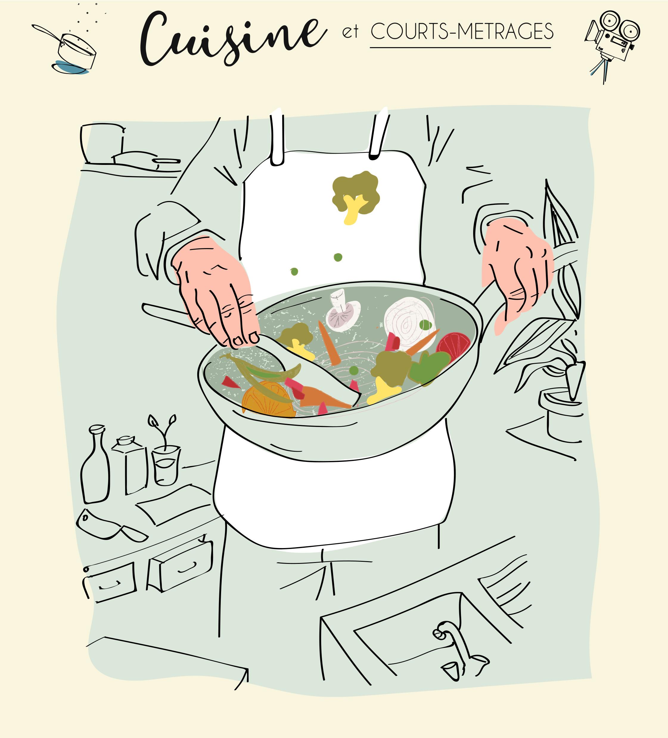 Les ateliers Cuisine & Courts-métrages